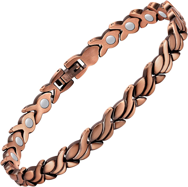 Rigid bracelet Romantic cuff Copper wire bracelet for woman