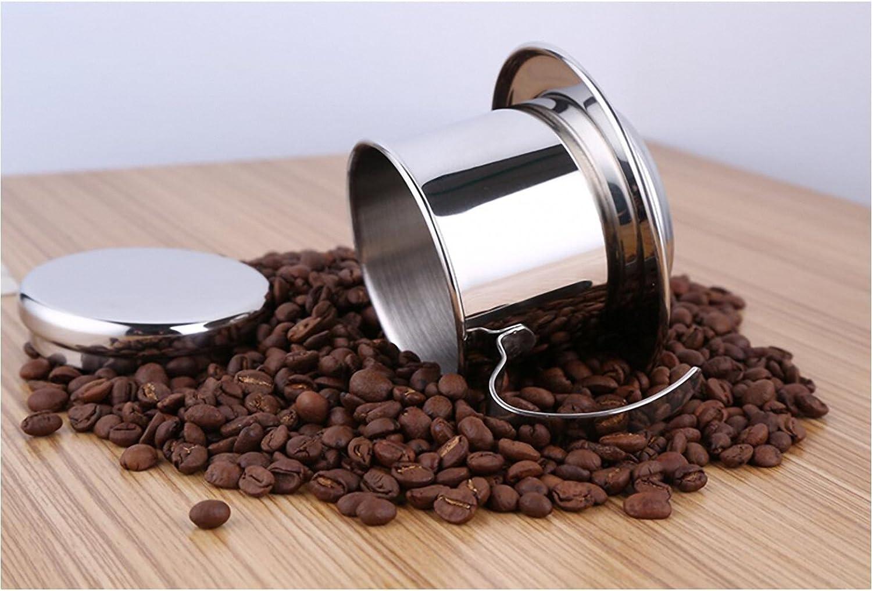 bournetech café vietnamita pour over Filtro de goteo, papel libre portátil cafetera eléctrica: Amazon.es: Hogar