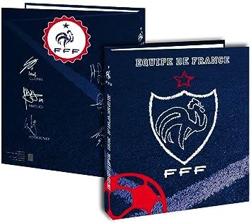 Archivador tamaño A4, la selección de Francia de fútbol-Estuche escolar: Amazon.es: Oficina y papelería