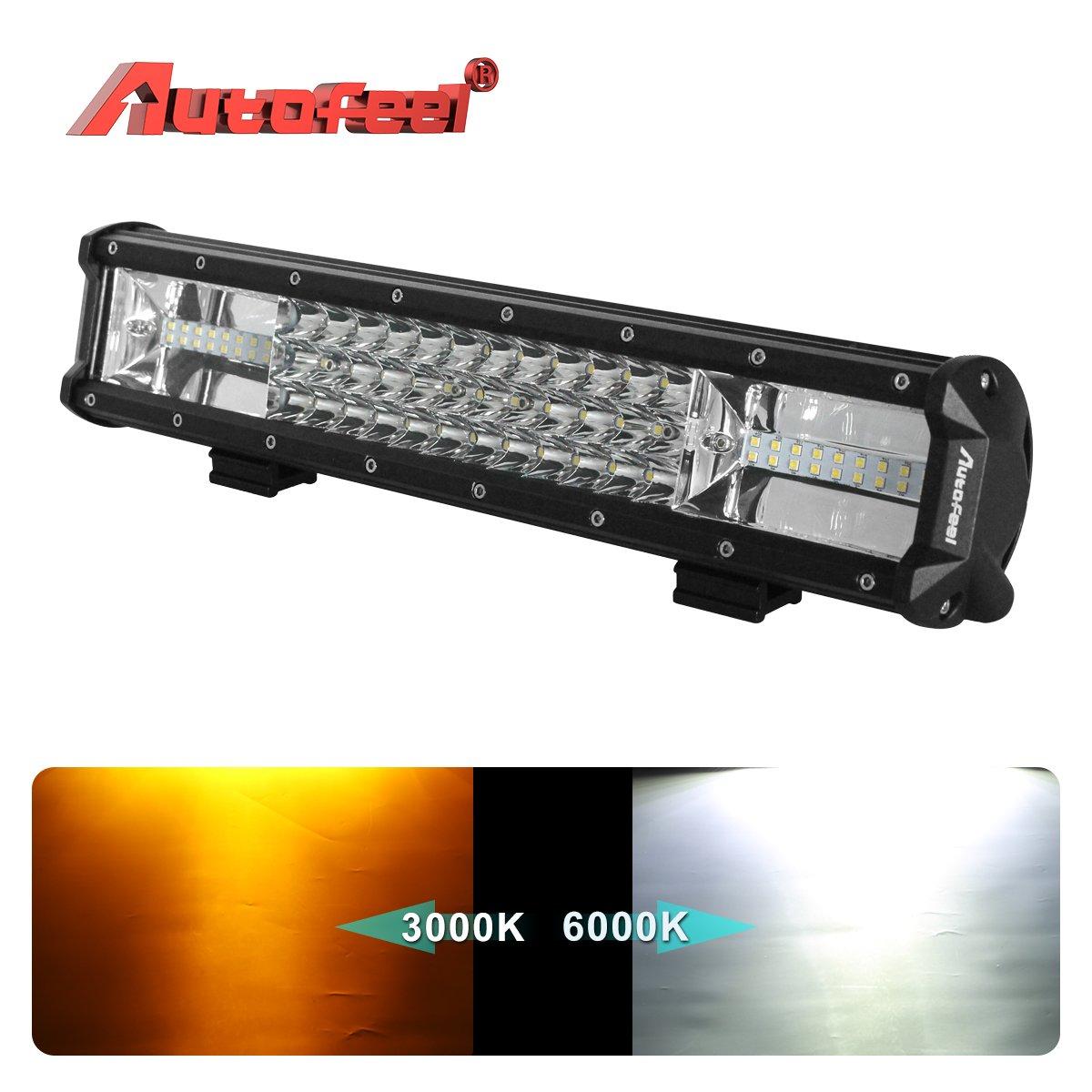 MICTUNING MIC-5DP30 2X SR-Mini Series 8 30W Single Row CREE LED Light Bar Combo Spot Flood 2700lm 400m Visibility