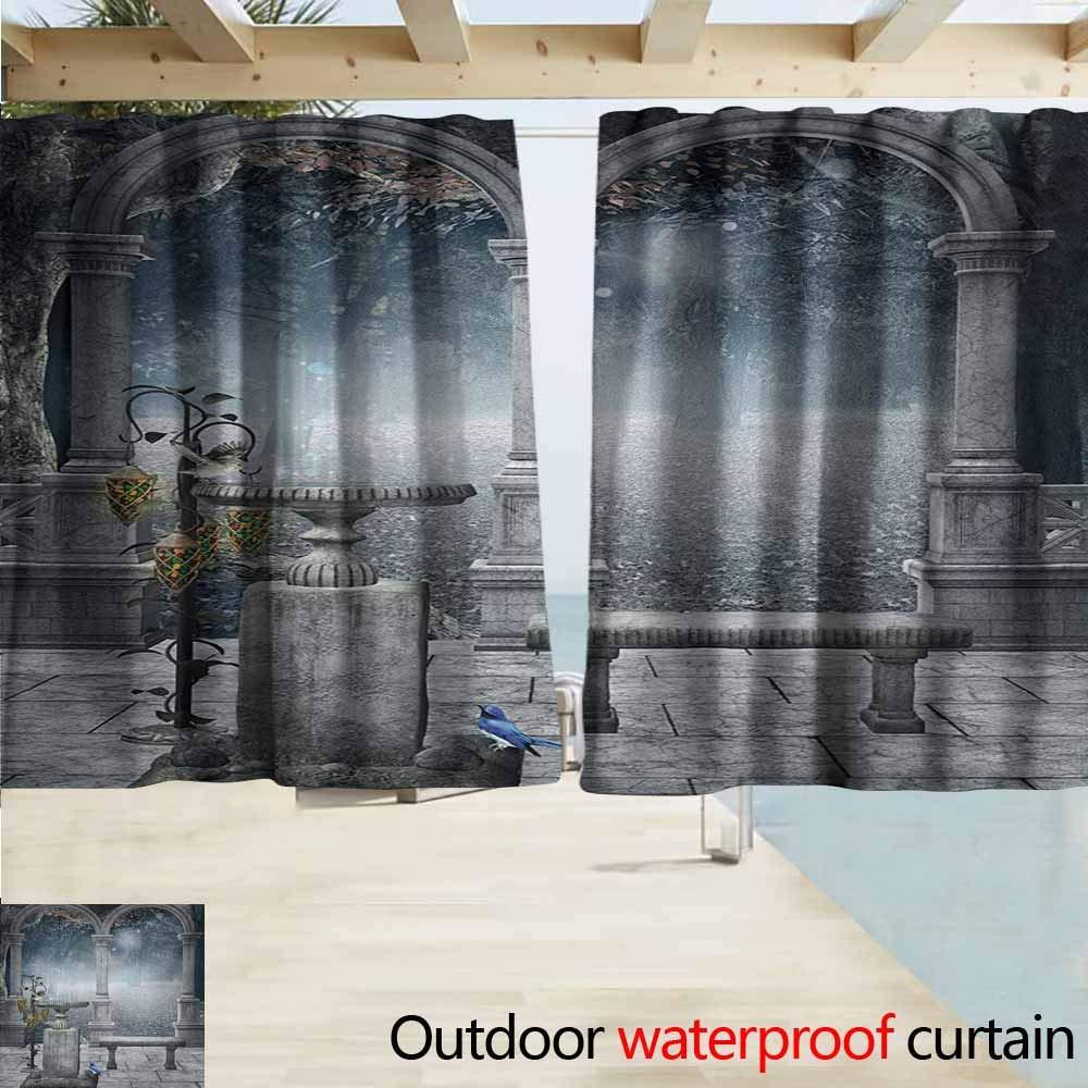 Amazon.com: Zmacdk - Cortinas de ventana góticas para ...