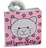 Jellycat Board Books, If I Were a Kitty Book - 6 inches