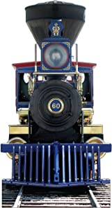 Advanced Graphics CP 60 Jupiter Train with Sound Life Size Cardboard Cutout Standup