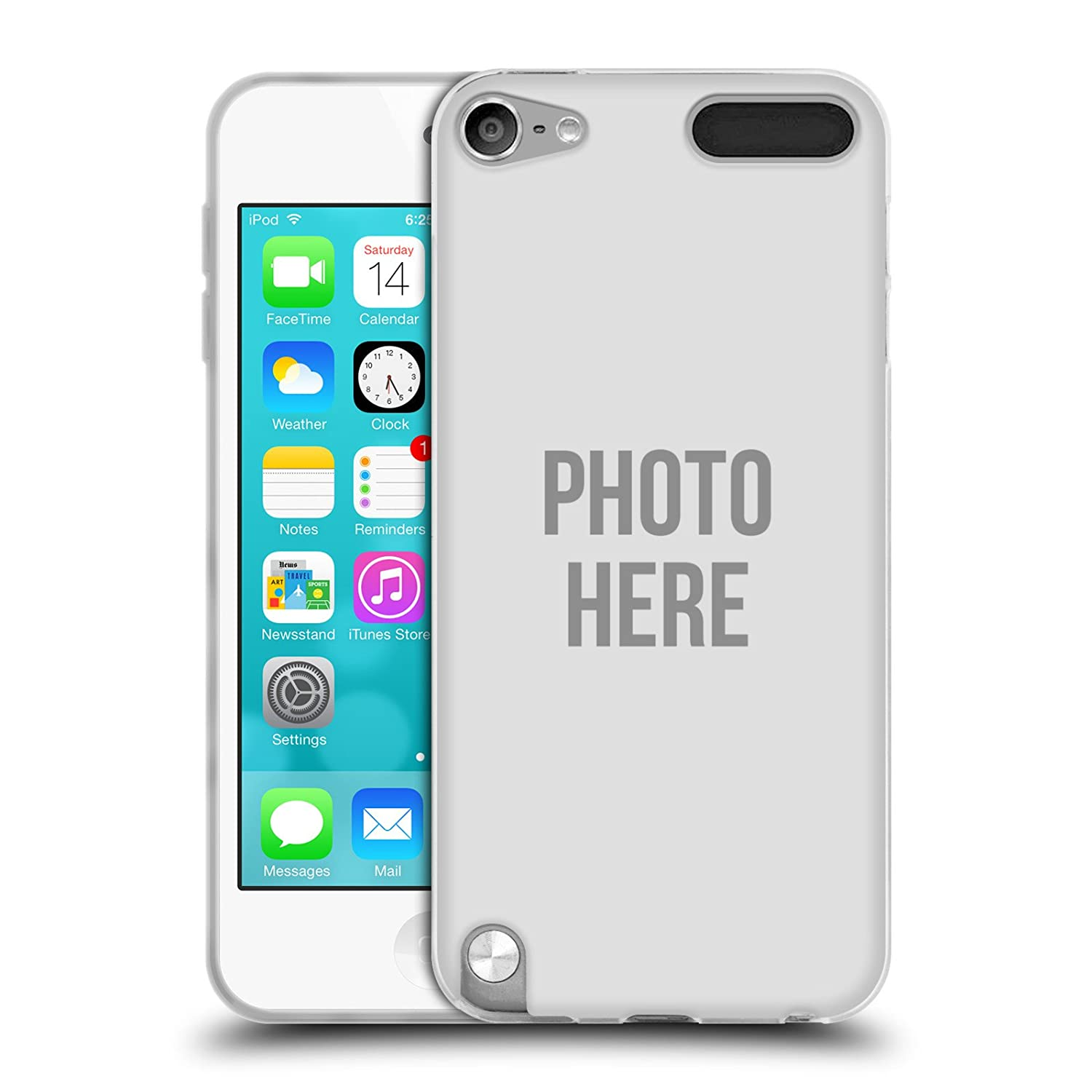 first rate 96d0b 02a00 Create Your Own Custom Photo Gel Case For Apple iPod Touch 5G 5th Gen