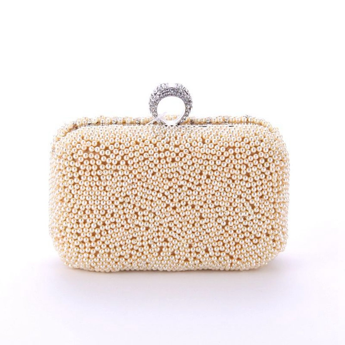 Lightlila Mondschein-Blaumen-Handtaschen-Kupplungs-Geldbeutel-weibliche Taschen-Gitter-Perlenstickerei-Fertigkeit-Abend-Tasche (Farbe (Farbe (Farbe   Champagne) B07PM4QCND Clutches Moderne Technologie f8e3f0