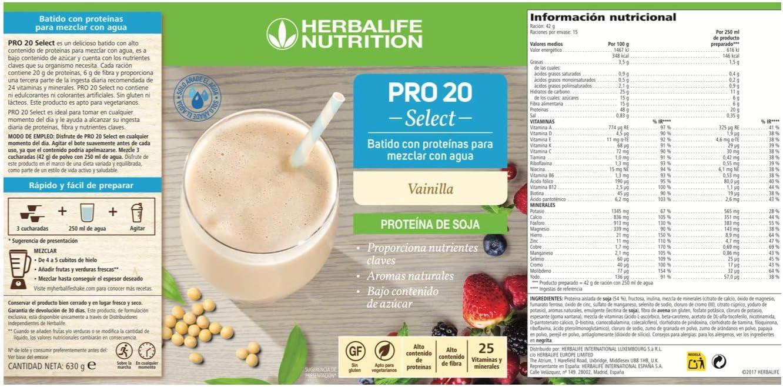 All-in-One de proteína de Shake Pro 20 - Select - 630 G