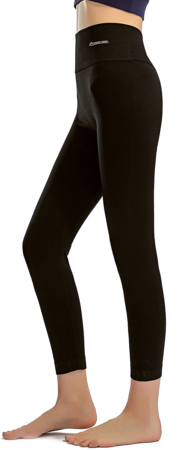 RUNNING GIRL Ombre Yoga Pants Ultrasoft Performance Active Stretch High Waisted Running Leggings