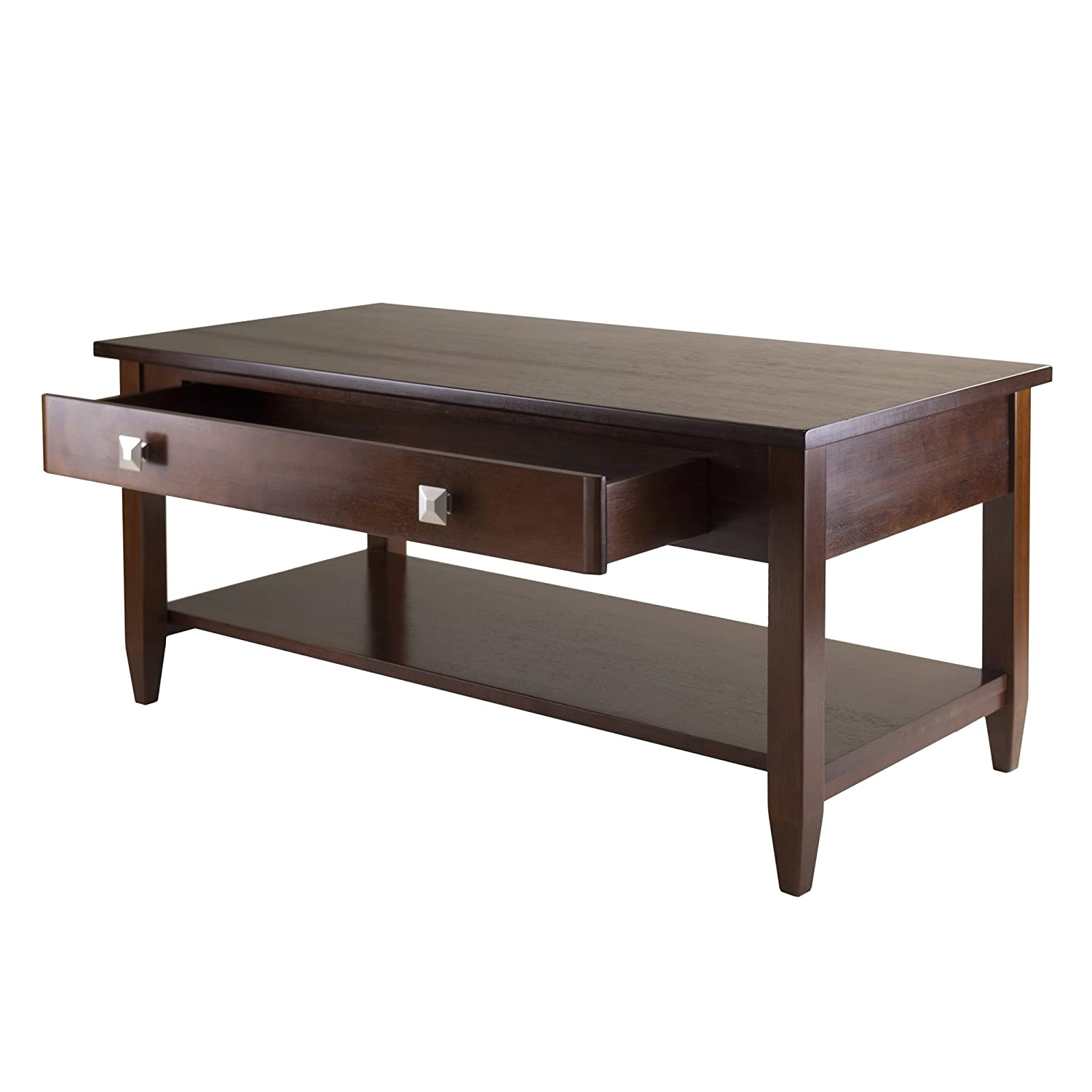 Amazoncom Winsome Richmond Coffee Table with Tapered Leg Kitchen