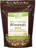 NOW Foods, Almonds, Raw and Unsalted, Source of Protein, Grown in the USA, 16-Ounce