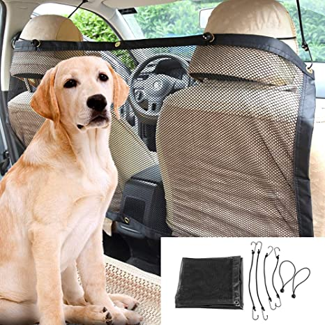 Car Back Guard Seat Dog Kid Pet Mesh Safety Protect Oxford Net Barrier Isolation