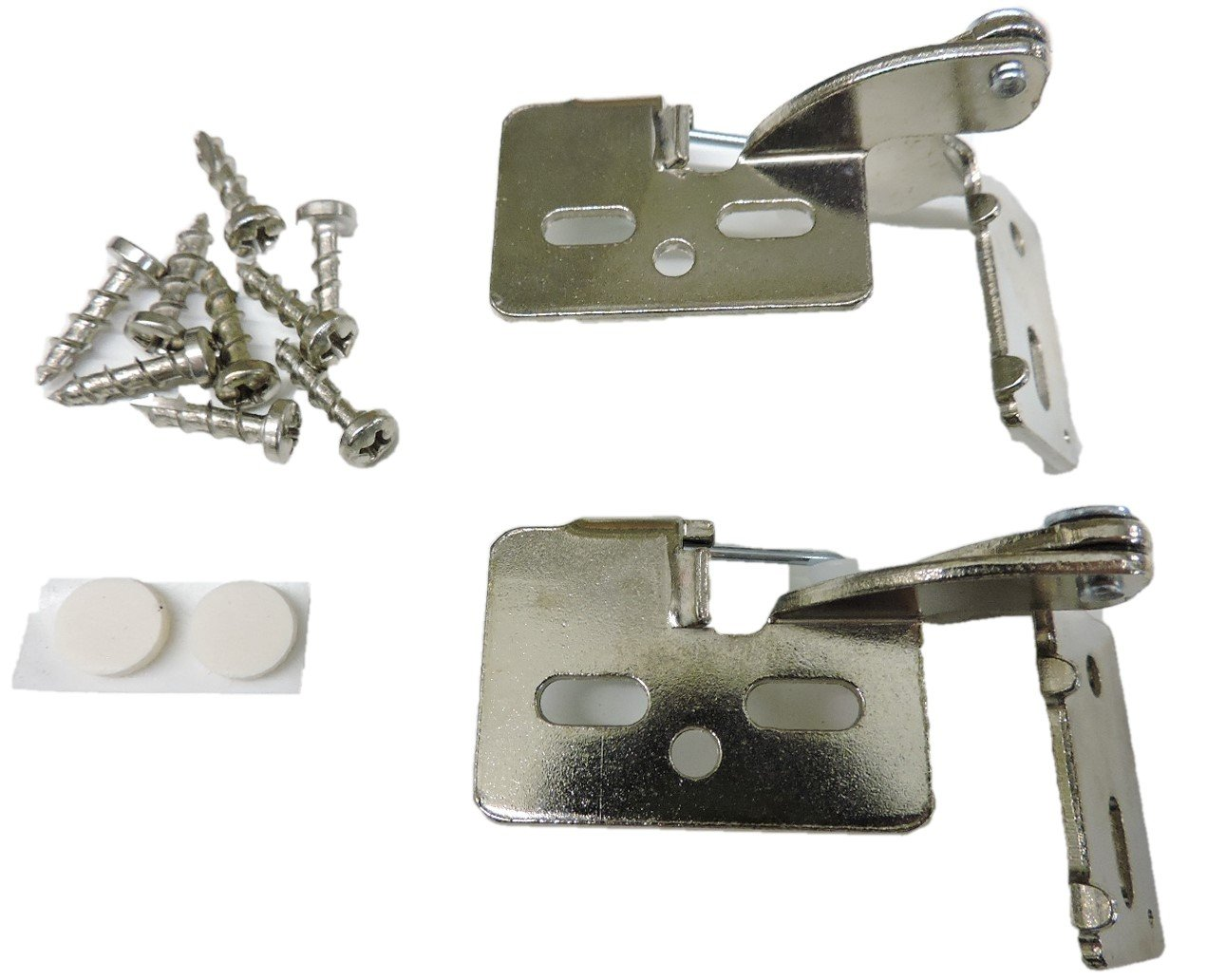 2 Youngdale # 6 helles Nickel 1/2 Overlay 5/20,3–2,5 cm Dicke Tür ...