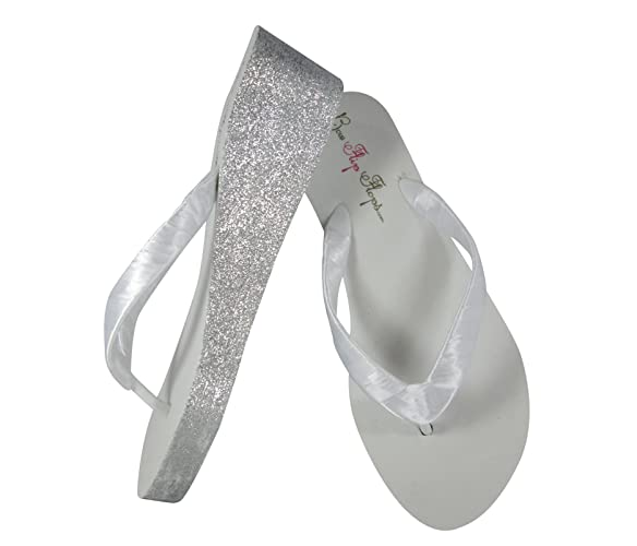 3ebc69cfd4ae Amazon.com  Customize your Glitter   Satin Colors - Ivory or White ...