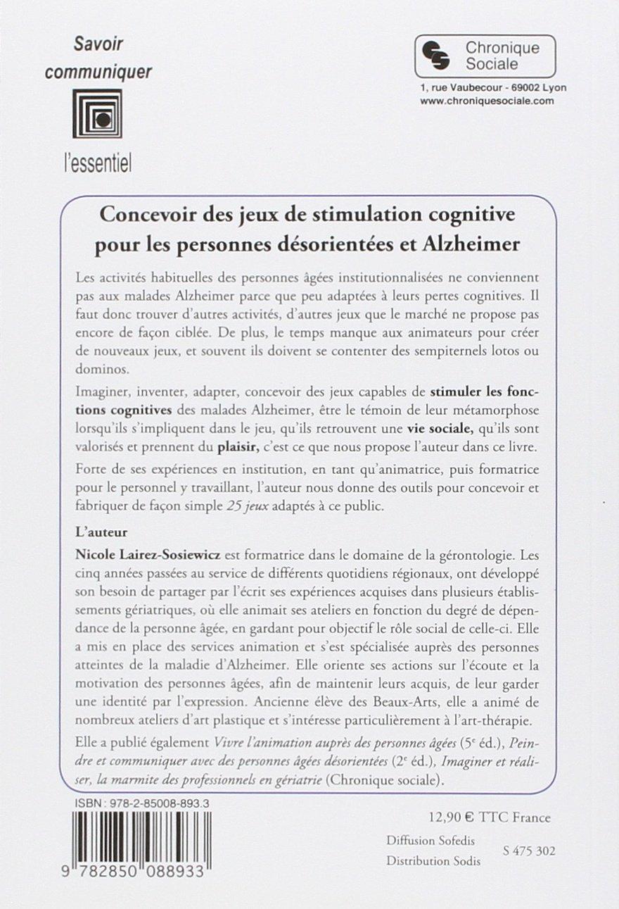Fabulous Amazon.fr - Concevoir des jeux de stimulation cognitive : Pour les  EA53