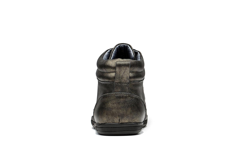 OPP Rindleder Herren Rindleder OPP Mid-Top Winter Sneaker Bronze 4943ea