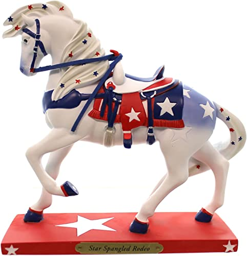 Trail of Painted Ponies Star Spangled Rodeo Figurine