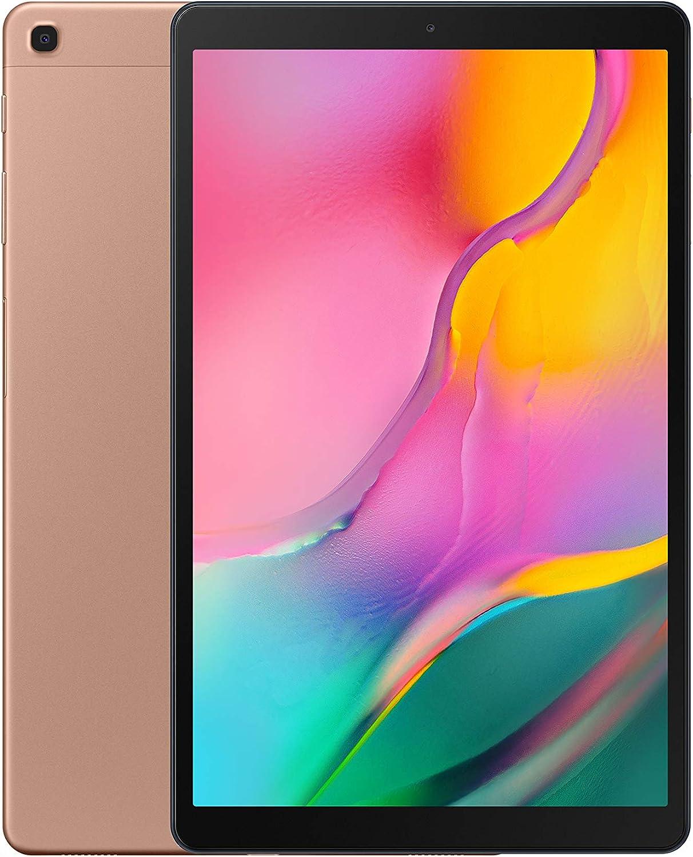 "Samsung Galaxy Tab A (2019,4G/LTE) SM-T515 32GB 10.1"" Factory Unlocked Wi-Fi + 4G/LTE Tablet - International Version (Gold)"