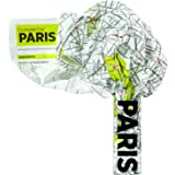 Palomar Crumpled City Map, Paris