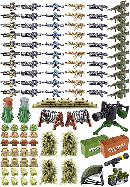 100 Authentic Lego Minifigure Accessories lot Weapons Tools Food Plants Animals