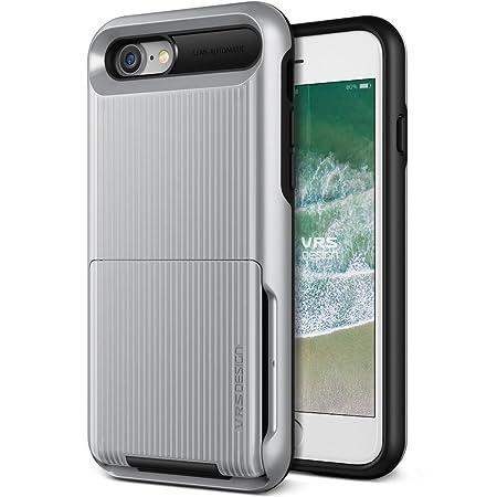 Funda iPhone 8, iPhone 7 VRS Design Carcasa Protector [Plata ...