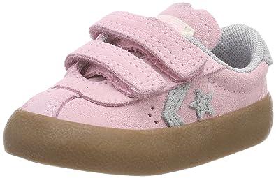 Converse Unisex-Kinder Breakpoint OX Cherry Blossom/Wolf Grey Fitnessschuhe, Pink (Cherry Blossom/Wolf Grey/Gum 681), 31 EU