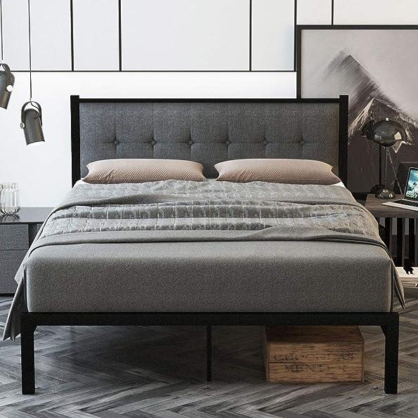 SHA CERLIN Queen Bed Frame