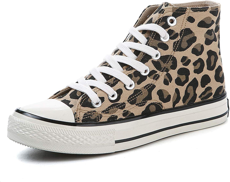 Oudiy Leopard Shoes Women Shoes Autumn