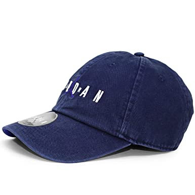 4f6361305e4b11 Nike Jordan Heritage H86 Air Strapback Hat (One Size, Blackened  Blue/Germaine Blue) at Amazon Men's Clothing store: