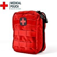 Bolsa de Primeros Auxilios de Supervivencia al Aire Libre MOLLE Bolsa de Emergencia de Escalada
