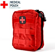 First Aid Medical Bag Pouch Backpack for Travel Camping Cycling (Color : Red)