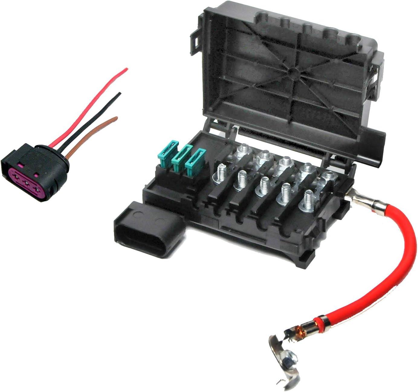 Amazon.com: Fuse Box with 3-Pin Plug and Harness 1J0 937 617D 773:  AutomotiveAmazon.com