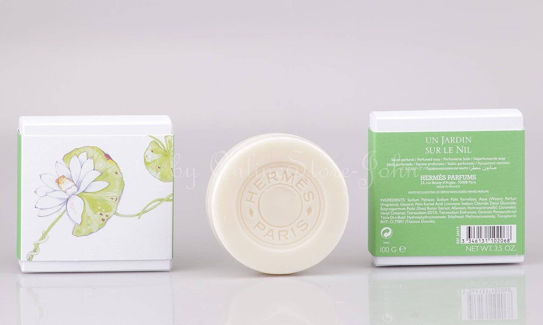 Un jardin sur le Nil Por Hermes 03 aroma jabón 100 g: Amazon.es: Salud y cuidado personal