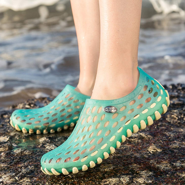 LIGHTEN Mens Womens Soft Water Shoes Summer Mesh Quick Drying Slippers Garden Clogs Shoes Beach Sandals