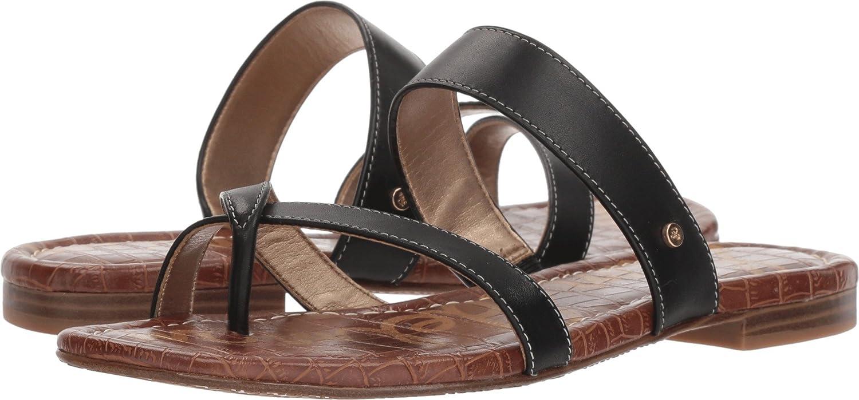 Sam Edelman Women's Bernice Slide Sandal B078SXYT2N 7.5 W US|Black Vaquero Saddle Leather