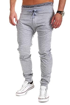 MT Styles Slim Fit Trainingshose Sporthose Hose 374  Grau, S ... dd12faae40
