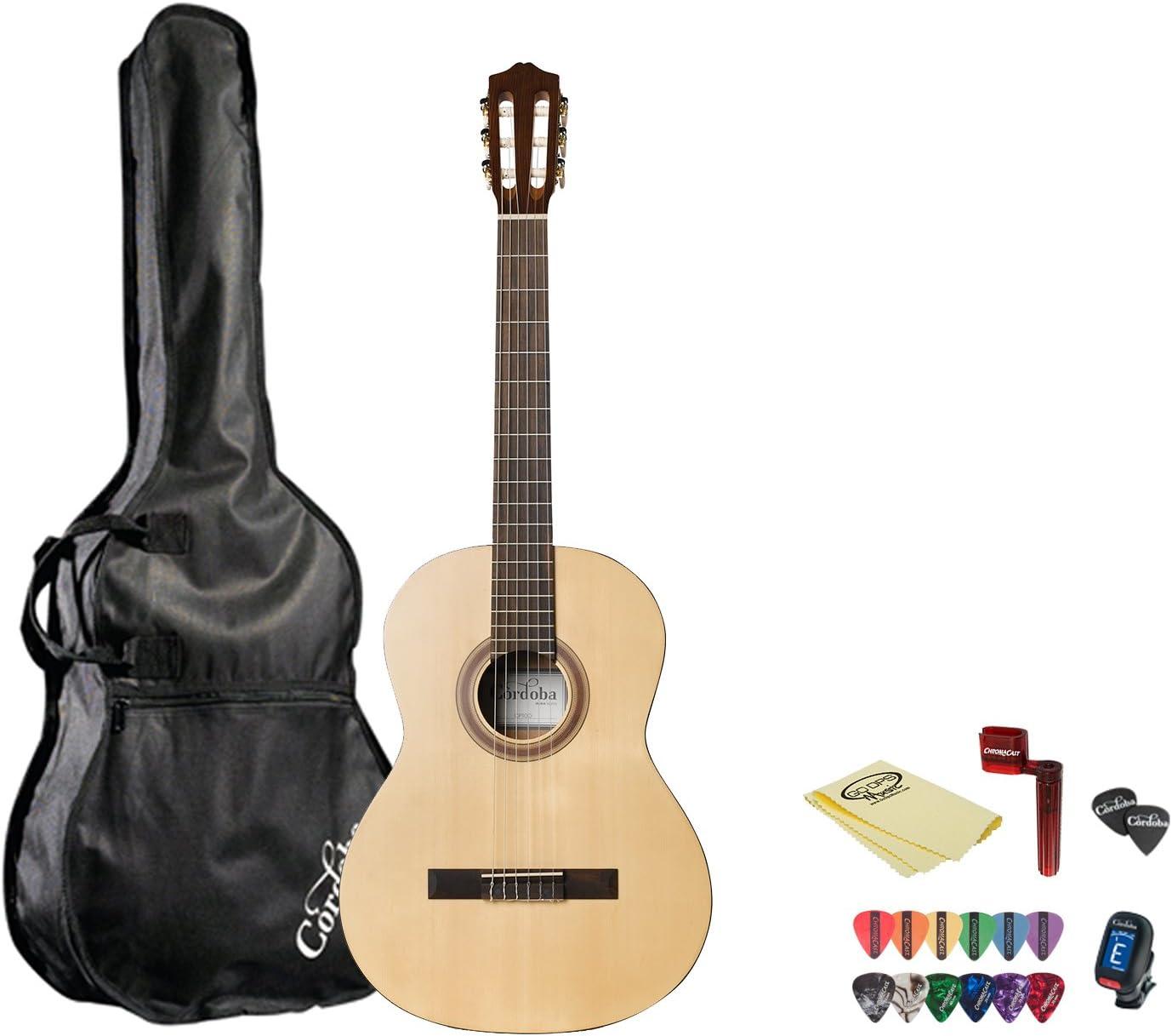 Cordoba CP100 Pack de guitarra: Amazon.es: Instrumentos musicales