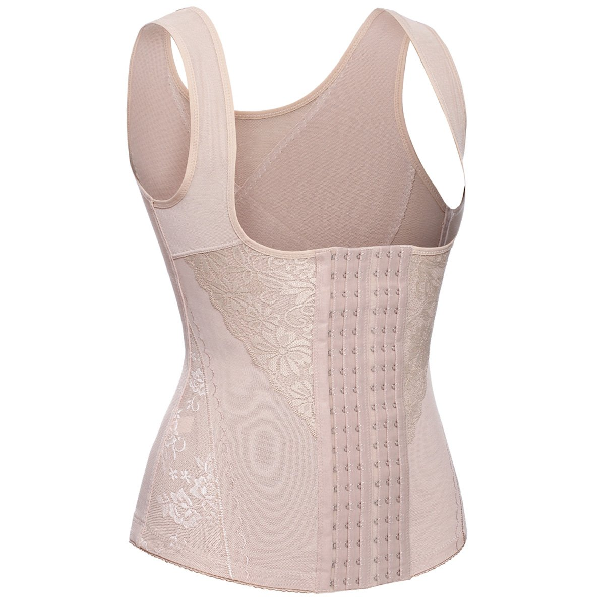 Sweat Vest Tank Top Shapewear Korsage Korsett Sauna Suit 6 Row Hook