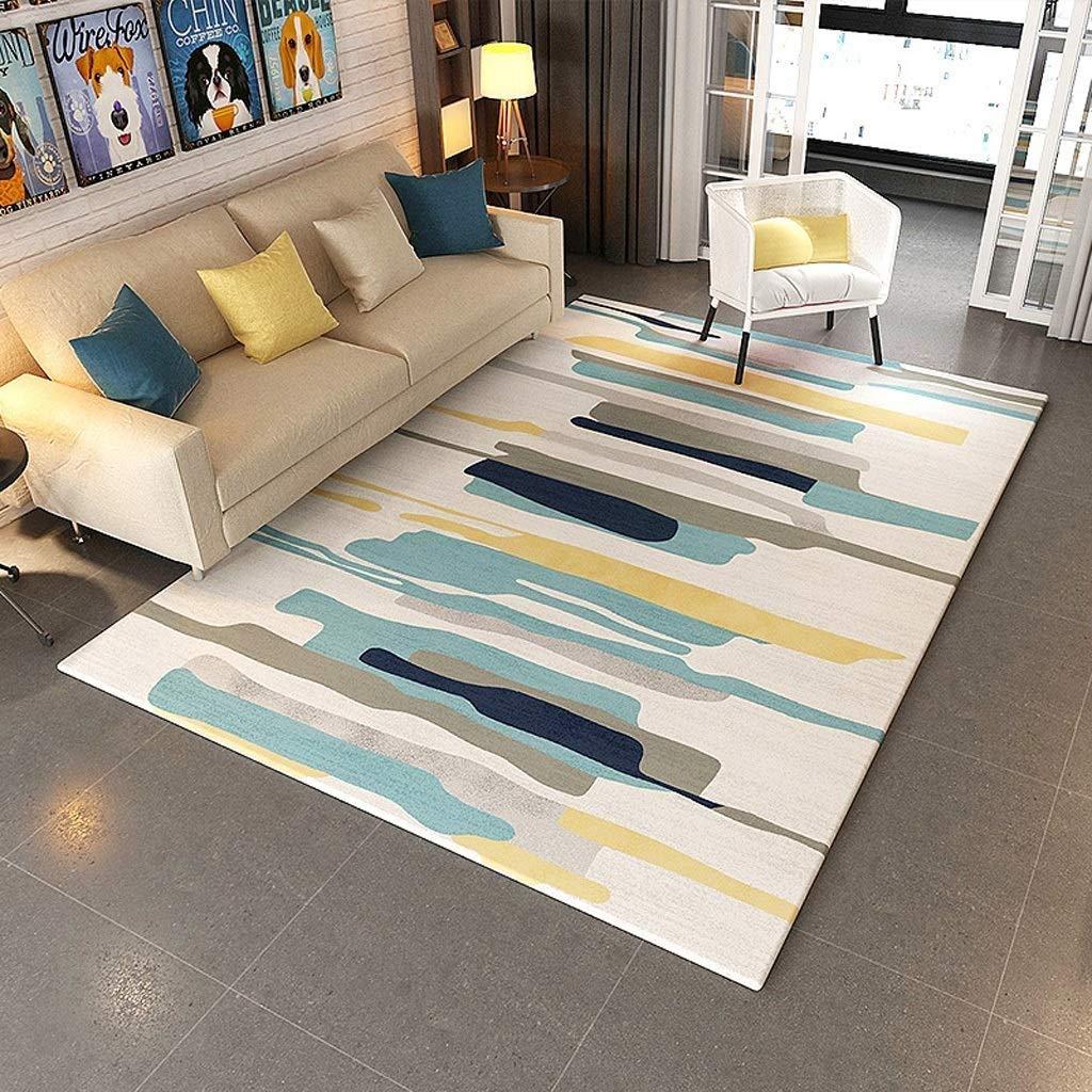 ホームデザイナーカーペット現代的な多機能ベージュリビングルームのソファーの寝室の敷物北欧スタイルの品質現代のミニマリストの二乗設計手彫りソフト、無敵の取引(160 X 230 Cm) (サイズ さいず : 180*280CM) B07SCMKYP8  180*280CM