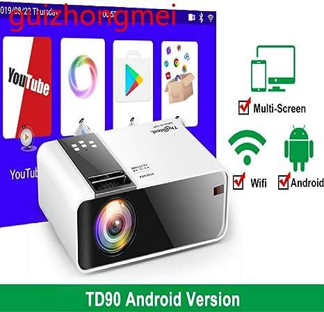 Amazon.com: HD Mini Projector TD90 Native 1280 x 720P LED ...