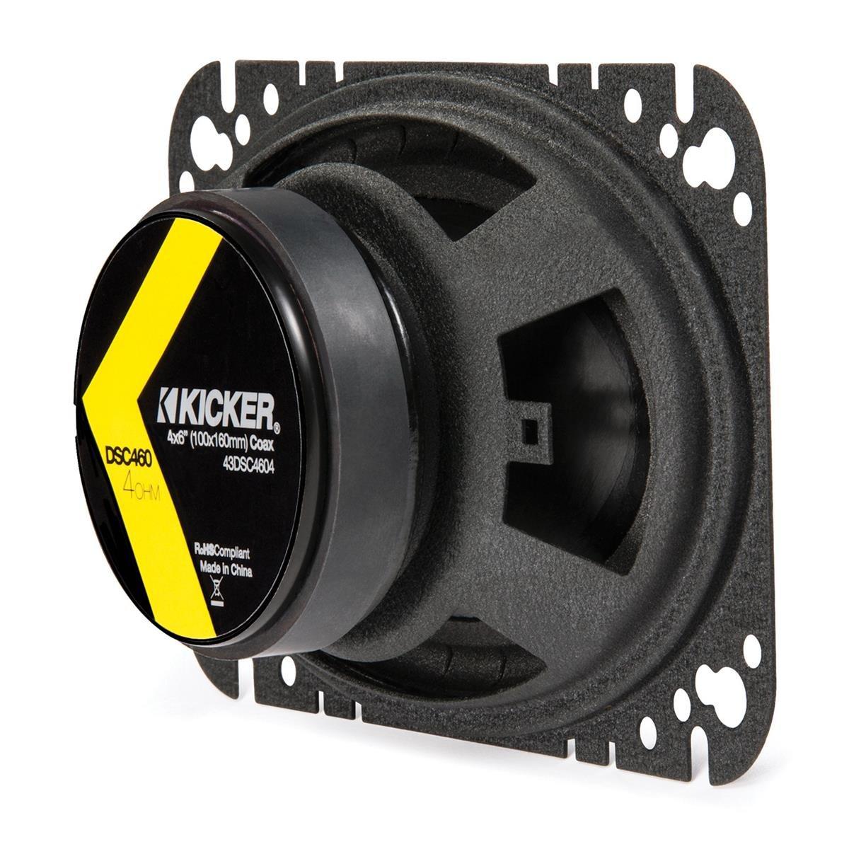 Kicker 43DSC4604 4x6 2-way Speaker Pair by Kicker (Image #7)