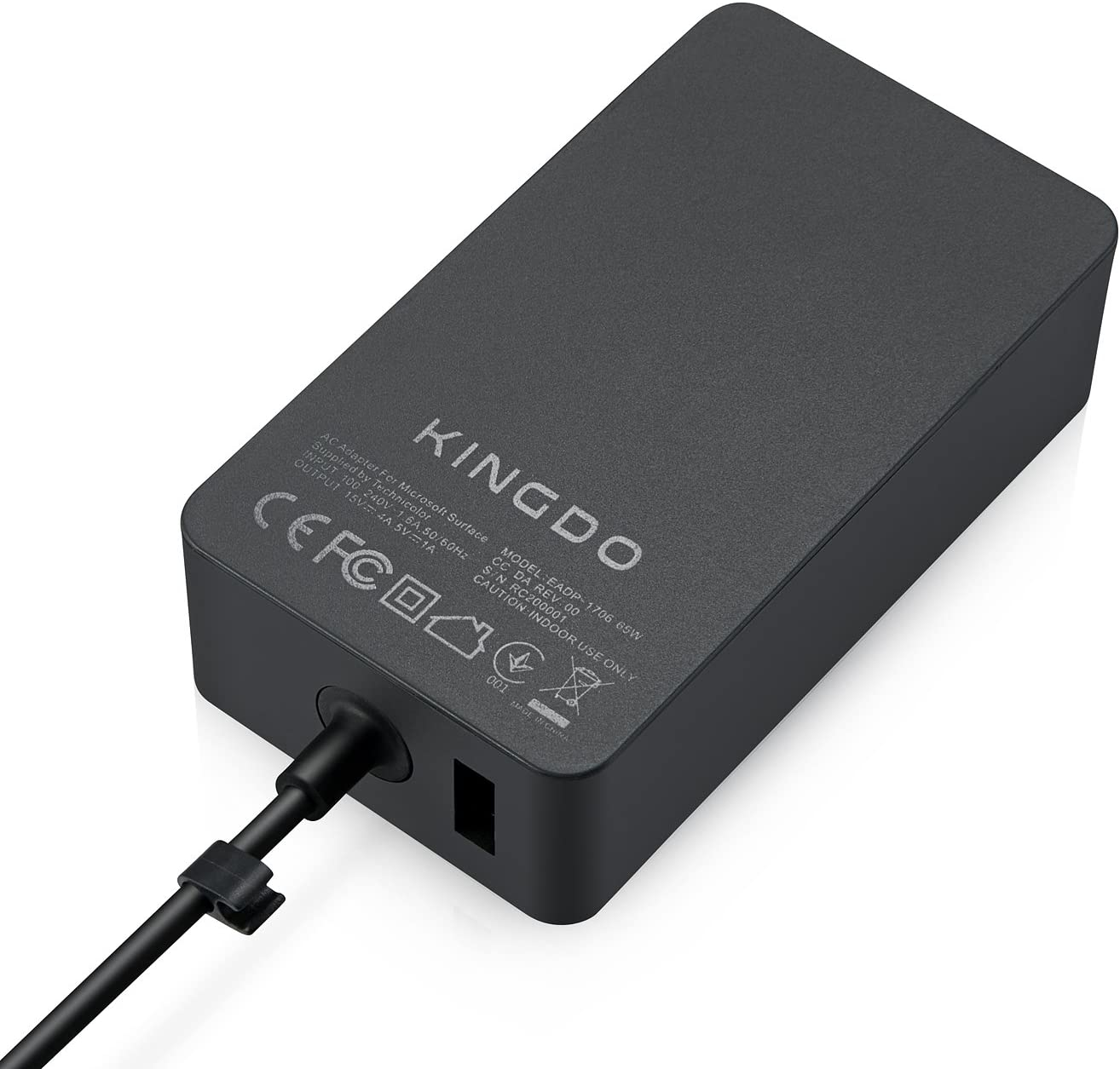 Surface Book Charger Surface Pro 4 Charger,65W 15V 4A Power Supply for Microsoft Surface Book Surface Pro 3 Pro 4 Surface Go Surface Laptop & Surface ...