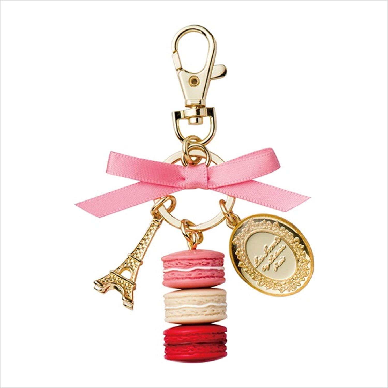 LADUREE Keychain Ring Eiffel Tower Tower Macaron Charm S Eiffel -ROSE -ROSE by MARKS B00JILP980, 健康茶専門店 チャイパ:d203cbcc --- awardsame.club