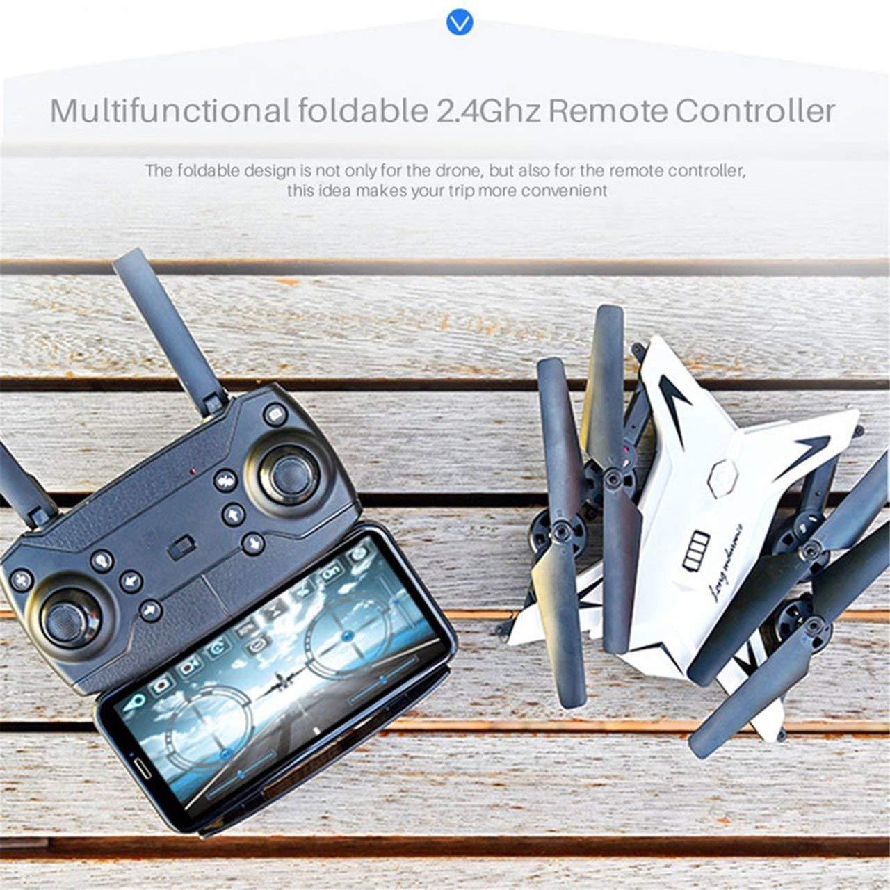 Jasnyfall KY601S Mit 1080W 1080W 1080W Kamera Gravity Sense 20 Min. Spielzeit Dual-Batterie Drone Schwarz a0a633