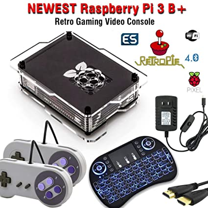 128GB Retropie Raspberry Pi 3 Model B+ Retro Games Video Console Complete  Build 110k+ Games