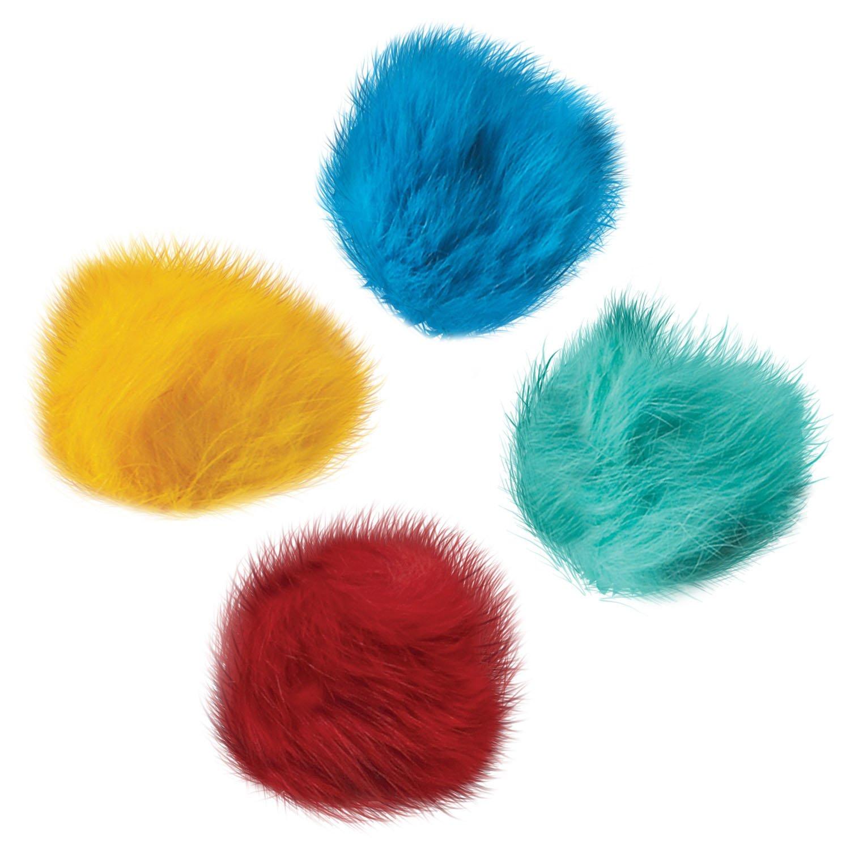 Zanies ZW3460 Fur Balls Canister, 80-Piece by Zanies