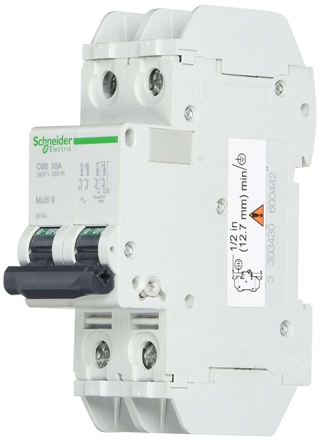 Schneider Electric 60144 magneto-thermic Switch C60 240 V 10 A