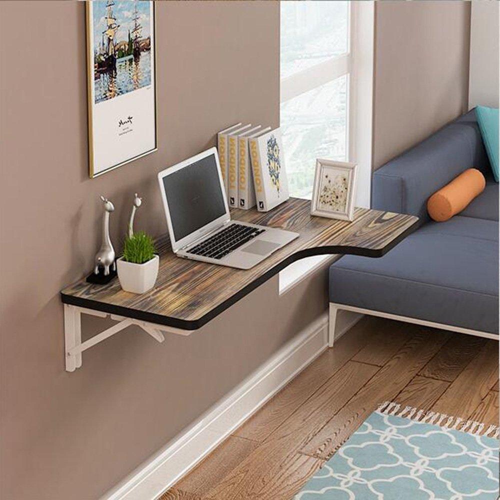 XIAOLIN 壁の机の壁にぶら下がってテーブルの壁を折りたたむLスタディの壁のコーナーを使用するコンピュータデスクコーナーデスクの壁掛けオプションの色、サイズ (色 : 07, サイズ さいず : 100*60*40cm) B07DWK2K84 100*60*40cm|07 7 100*60*40cm