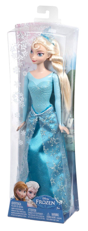 la reine des neiges cfb73 poupe mannequin elsa paillettes frozen amazonfr jeux et jouets