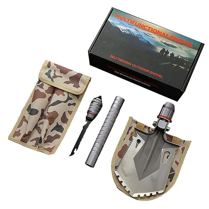 Amazon.com: Pala plegable y portátil para camping ...