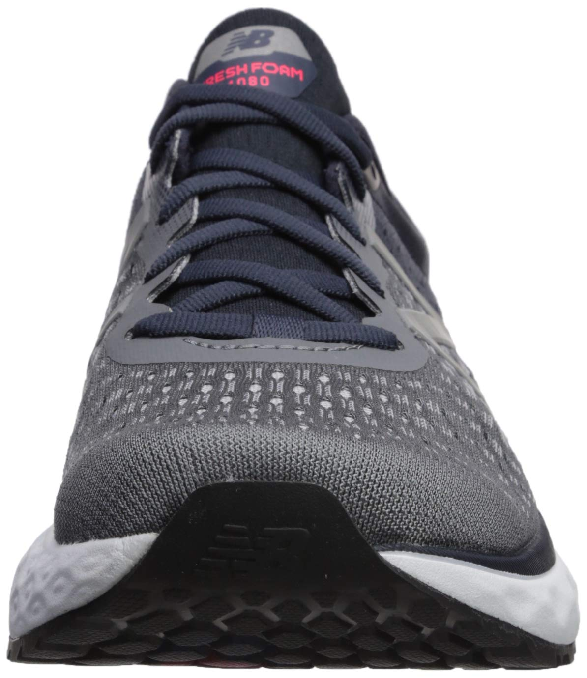 New Balance Men's 1080v9 Fresh Foam Running Shoe, Gunmetal/Outerspace/Energy red, 7 D US by New Balance (Image #4)