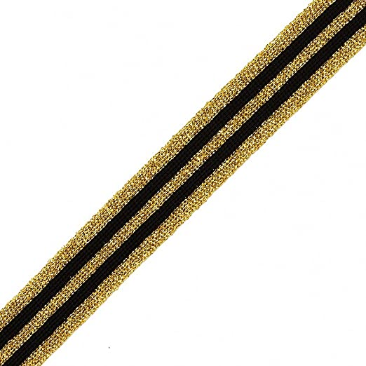 "4 Unit Gold Wired Metallic Mesh Ribbon 5//8/""x25 yds Unit pack 1"